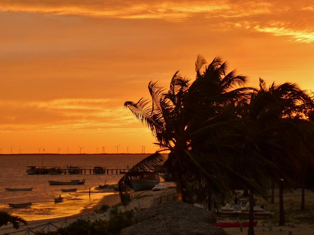 BRASIL . RIO GRANDE DO NORTE . Galinhos . Paraíso Que Não Se Define: Sente-se.