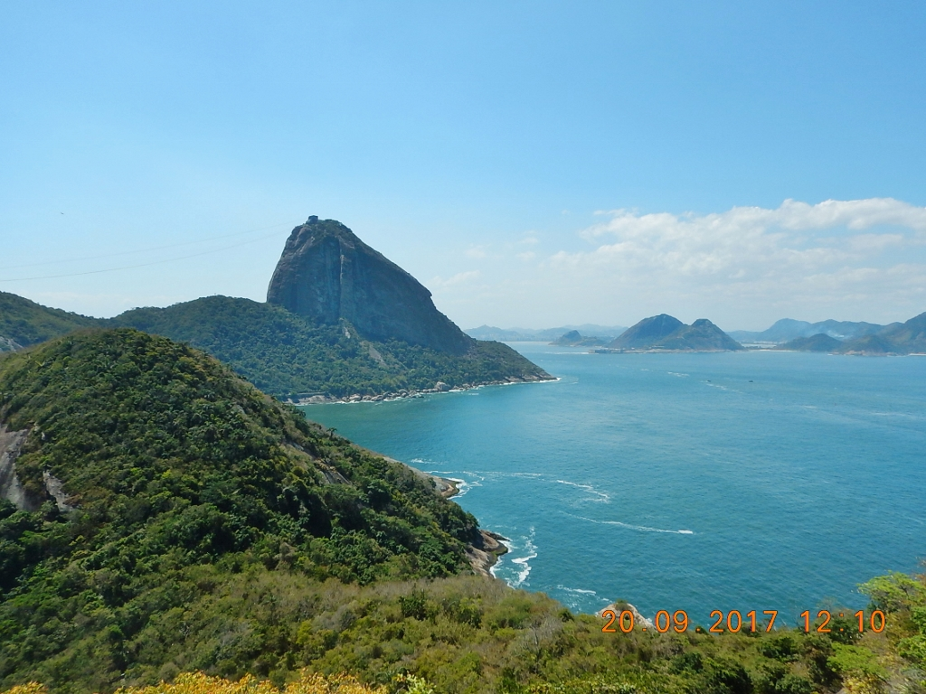 BRASIL . RIO de JANEIRO (CIDADE) . Forte Duque de Caxias – Belas Paisagens Vistas do Leme.