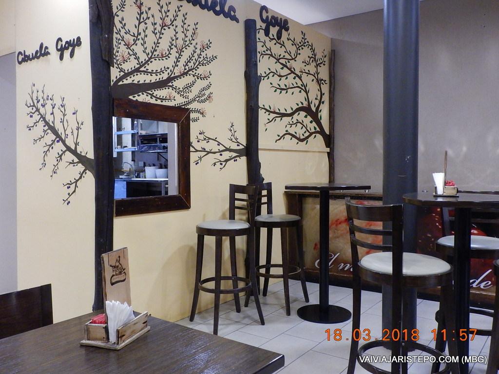 ARGENTINA . EL CALAFATE . ABUELA GOYE – Excelente Café/Restaurante.