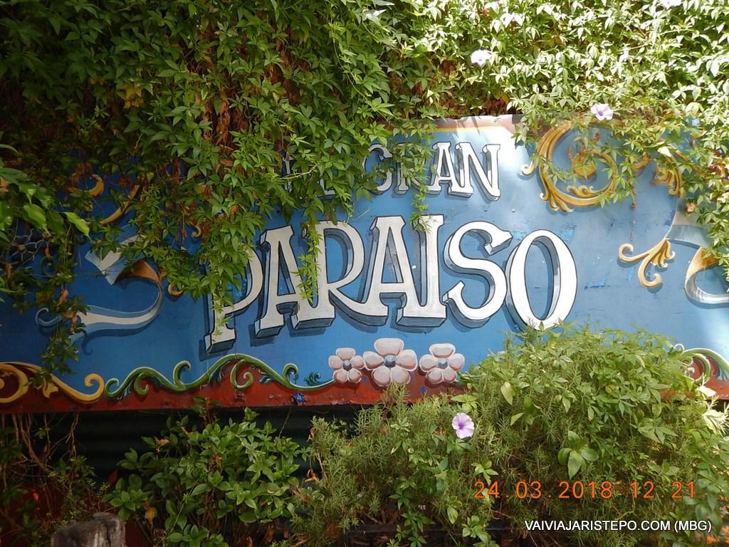 ARGENTINA . BUENOS AIRES: Restaurante EL GRAN PARAÍSO no Bairro La Boca.