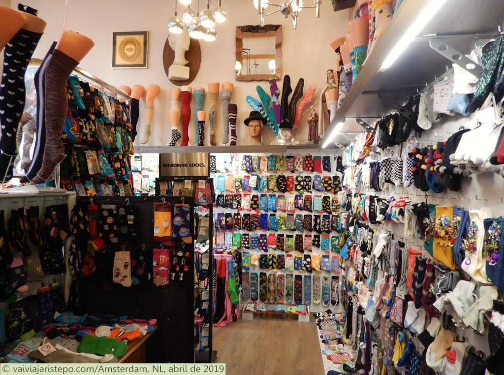 HOLANDA . AMSTERDAM . NIC-NIC FASHION EN DESIGN SOCKS WE LOVE – Onde Comprar Meias Prá Lá de Interessantes. Imperdível!