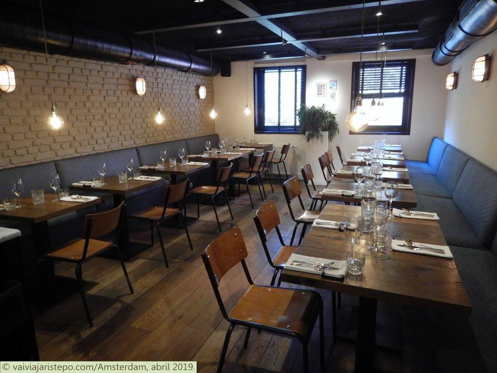 HOLANDA . AMSTERDAM . GUTS & GLORY – Mais Uma Excelente Opção Para Almoço Ou Jantar.