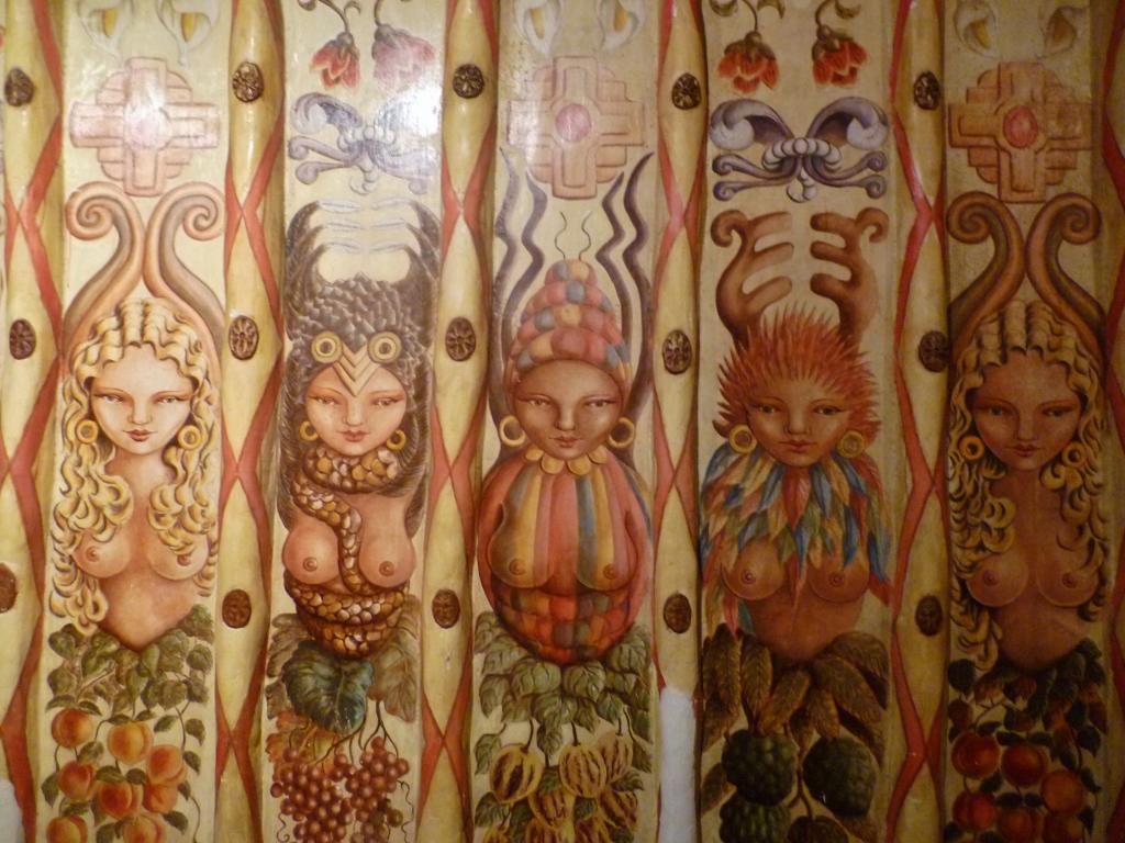 PERU. LIMA . Restaurante Brujas de Cachiche.