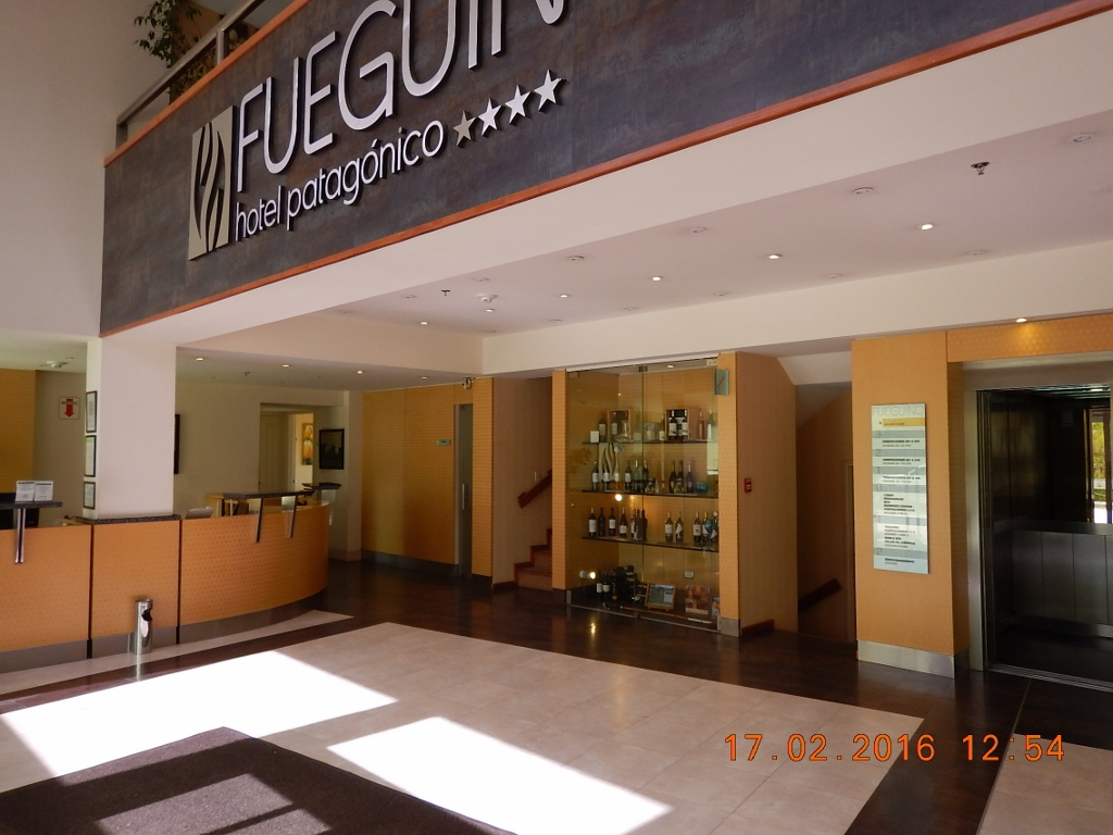 ARGENTINA . USHUAIA . HOTEL FUEGUINO, Afastado do Centro da Cidade.