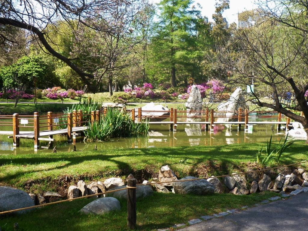 ARGENTINA . BUENOS AIRES . Jardim Japonês No Bosque Três de Fevereiro.