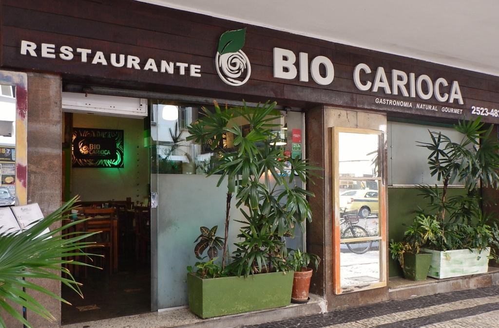 BRASIL . RIO DE JANEIRO . COPACABANA – Bio Carioca, Gastronomia Natural de Qualidade.
