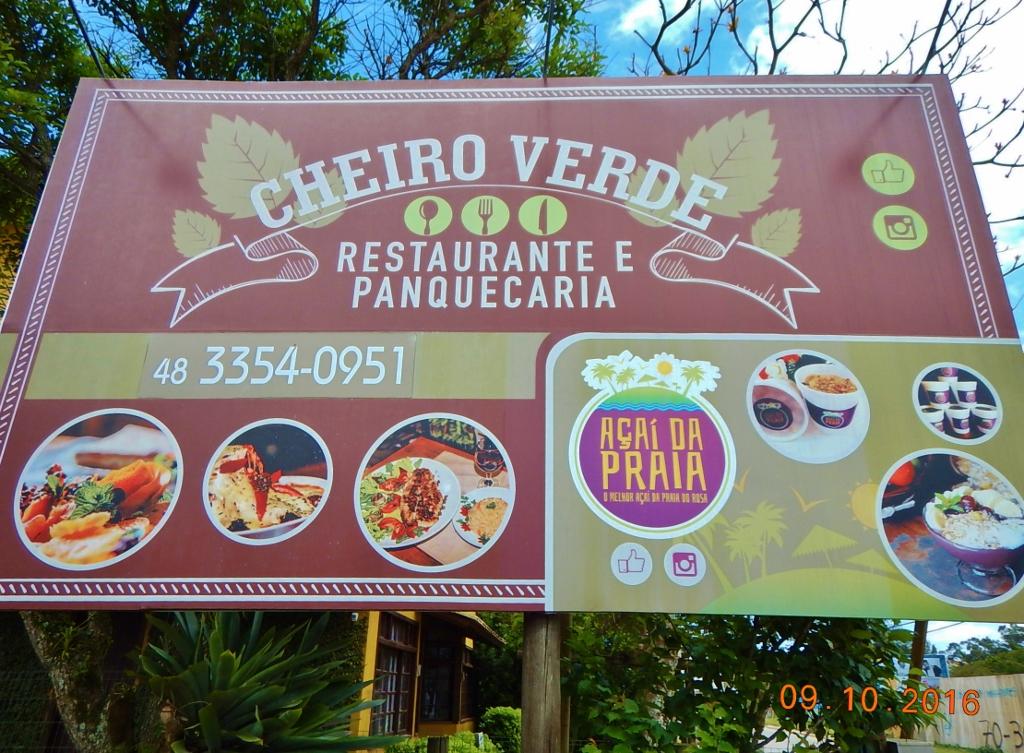 BRASIL . SANTA CATARINA . IMBITUBA – Cheiro Verde, Restaurante e Panquecaria.