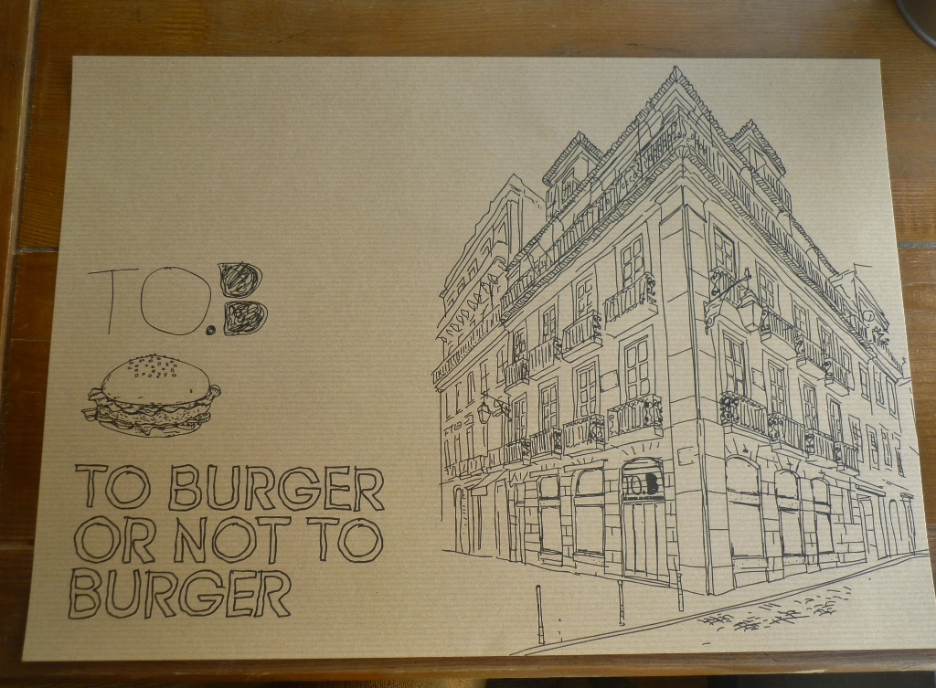 PORTUGAL . LISBOA – To Burger Or Not To Burger.