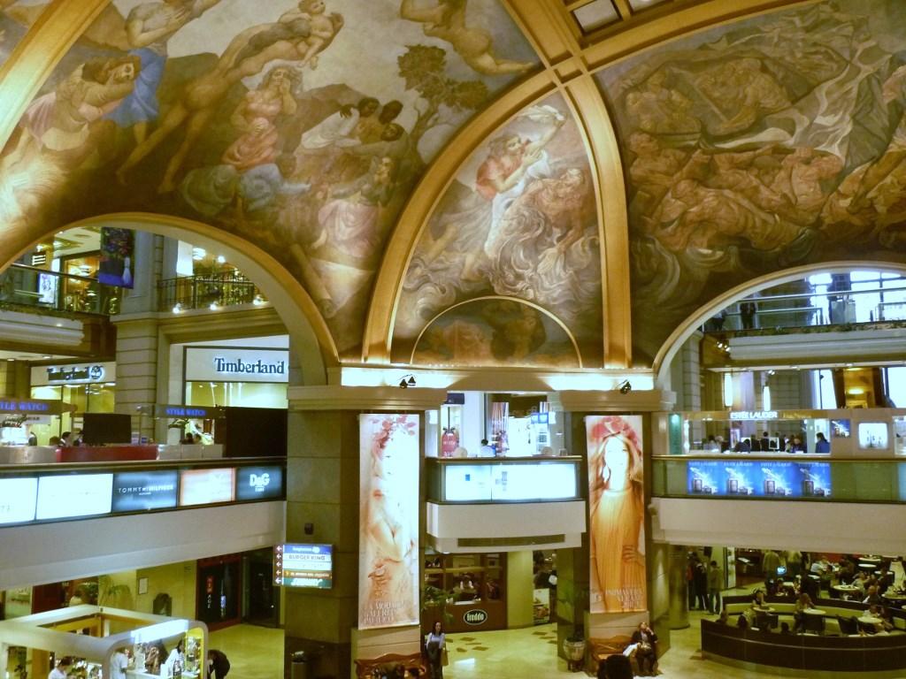 ARGENTINA . BUENOS AIRES – Galerias Pacífico: Patrimônio Histórico Argentino.