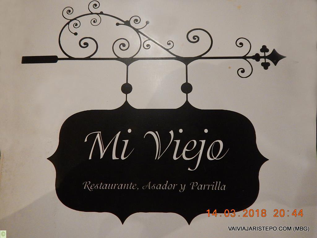 ARGENTINA – Mi Viejo, Restaurante em El CALAFATE.